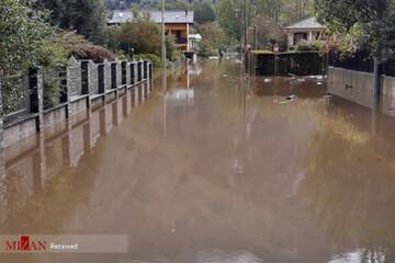 سیل شدید در ایتالیا و فرانسه+ عکس