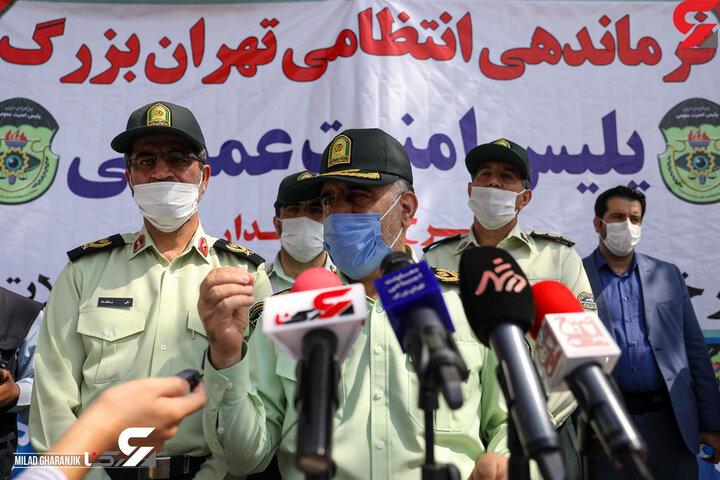واکنش رئیس پلیس تهران به اظهارات علیرضا افتخاری از نحوه برخورد پلیس با مردم