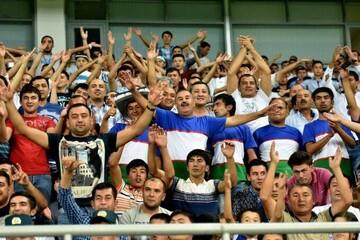 دیدار ازبکستان-ایران با حضور تماشاگران برگزار می شود