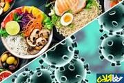 برنامه غذایی بیمار مبتلا به کرونا