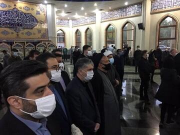 گزارش تصویری از مراسم تشییع استاد شجریان در بهشت زهرا تهران + عکس