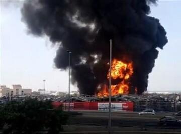 علت صدای انفجار در بیروت مشخص شد؛ وقوع انفجار در انبار نفت کوره