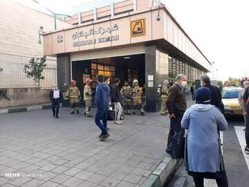 علت اولیه حادثه مترو اکباتان مشخص شد