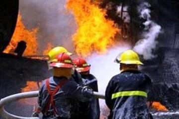جزئیات آتشسوزی انبار چوب و ضایعات در جنوب پایتخت