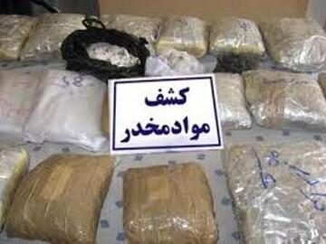 بازداشت شرور مسلح با ۱۰۱ کیلوگرم تریاک در کرمان