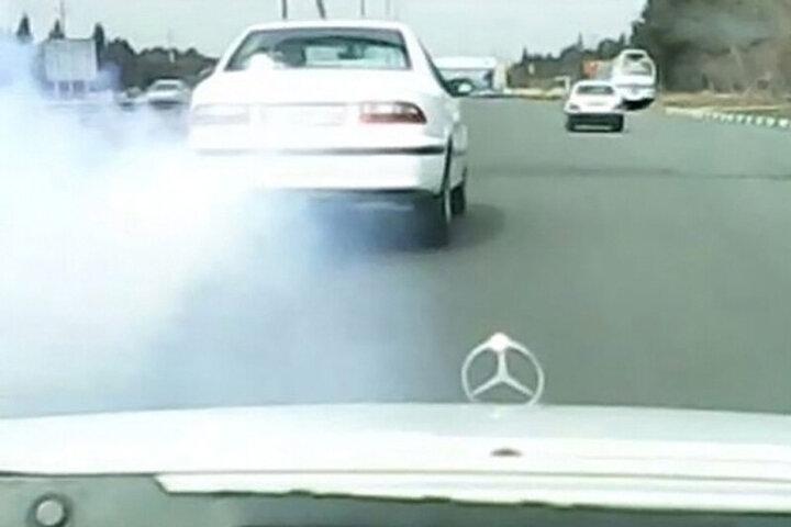 تیراندازی پلیس در تعقیب و گریز خودروی قاچاقچی / فیلم