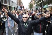 اعتراض به محدودیتهای کرونایی در لندن