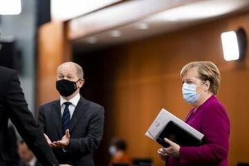 نگرانی مرکل از وضعیت کرونا در آلمان
