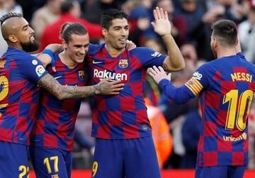 انتقاد هواداران بارسلونا از رنگ لباس بازیکنان + عکس