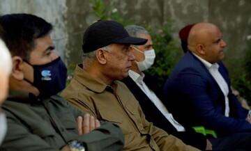 بازدید الکاظمی از محل جنایت در بلد + عکس