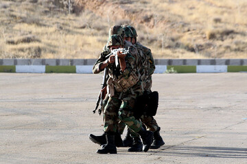 درگیری مسلحانه نیروی انتظامی با اشرار در سیستان و بلوچستان