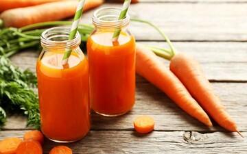 آب هویج و خواص فراوان + جزئیات