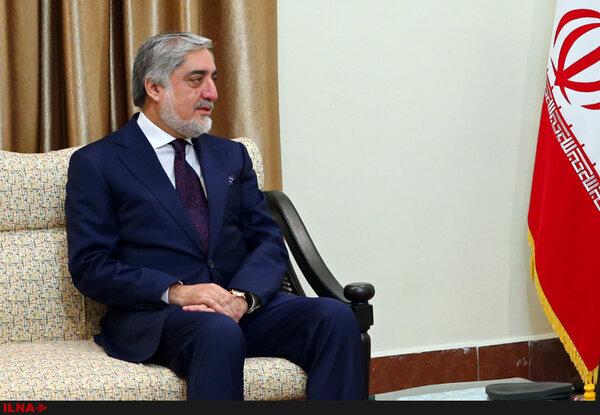 عبدالله عبدالله در راه تهران