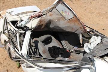 تصادف وحشتناک پراید و کامیون در کرمان/ آمار جان باختگان اعلام شد