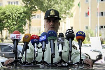 کاهش ۲۴ درصدی وقوع جرم در تهران
