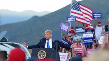 ترامپ، بایدن را به باد انتقاد و تمسخر گرفت