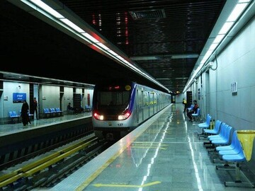 آمار مسافران متروی تهران در روزهای کرونایی