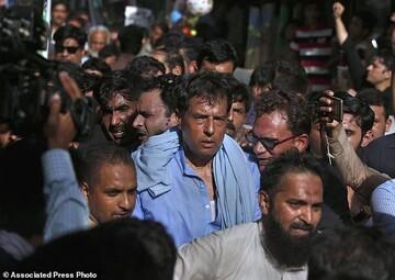 داماد نواز شریف دستگیر شد