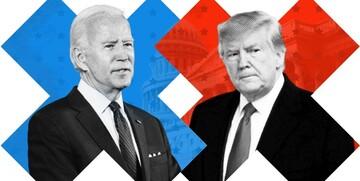 پیشتازی ۹ درصدی بایدن از ترامپ