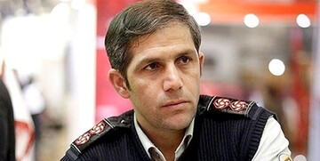 یک انبار کالا در تهران آتش گرفت