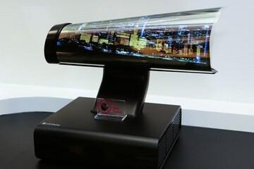 اولین تلویزیون لوله شونده فروخته شد