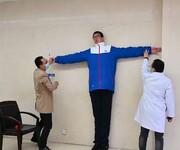 بلندقدترین نوجوان جهان کیست + تصاویر
