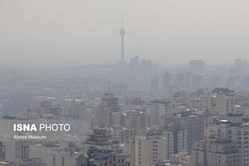 آلودگی هوای تهران در مهر ۹۹ رکورد زد