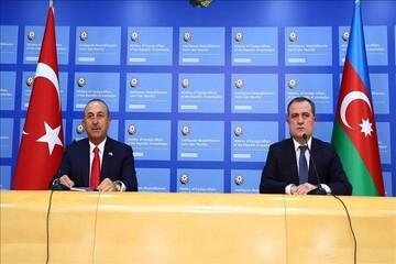 گفت و گوی تلفنی وزرای خارجه ترکیه و آذربایجان پیرامون تحولات قرهباغ