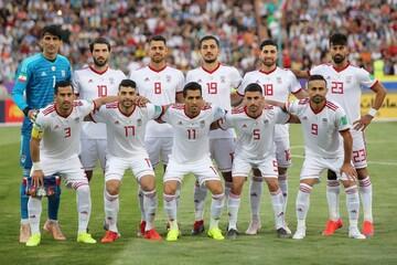 تیم ملی فوتبال ایران در رده ۲۹ جهان