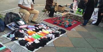 افزایش آمار دستفروشان در تهران