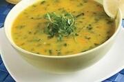 سوپ اسفناج رشته ای برای مبتلایان به کرونا + طرز تهیه