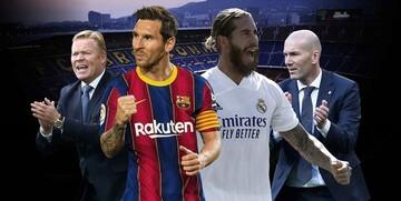 ترکیب بارسلونا و رئال مادرید در هفته هفتم لالیگا
