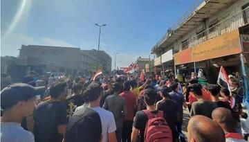 درگیری نیروهای امنیتی عراق با معترضان/  ۳۹ نفر مجروح شدند