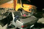 تصاویری دردناک از لحظه زیرگرفتن چند خودرو توسط کامیون در تبریز +فیلم