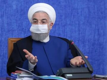 روحانی: دولت از پیشنهاد سایر قوا استقبال می کند