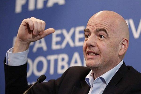 اینفانتینو رئیس فیفا به کرونا مبتلا شد