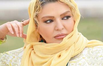 خانم بازیگر و حیوان خانگی اش + عکس