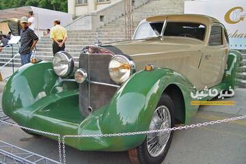 تصاویری از مرسدس بنز کلاسیک ۵۰۰K گران قیمتترین خودروی ایران