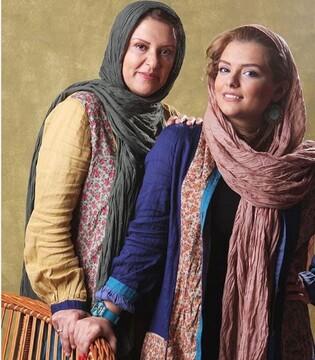 ست کردن لباس رویا تیموریان و دخترش دنیا مدنی + عکس