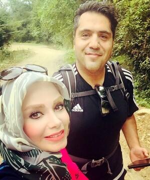 مجری معروف و همسرش در ترکیه + عکس