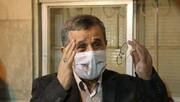 تشکر متفاوت احمدینژاد از مردم + عکس