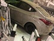 برخورد یک خودرو با درب مسجدالحرام در مکه