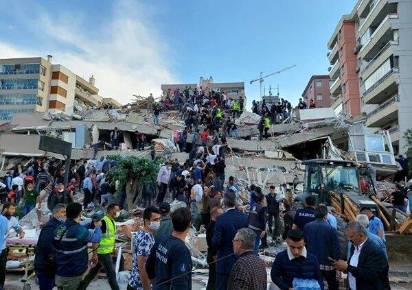 افزایش آمار قربانیان زلزله ترکیه به ۲۸ نفر