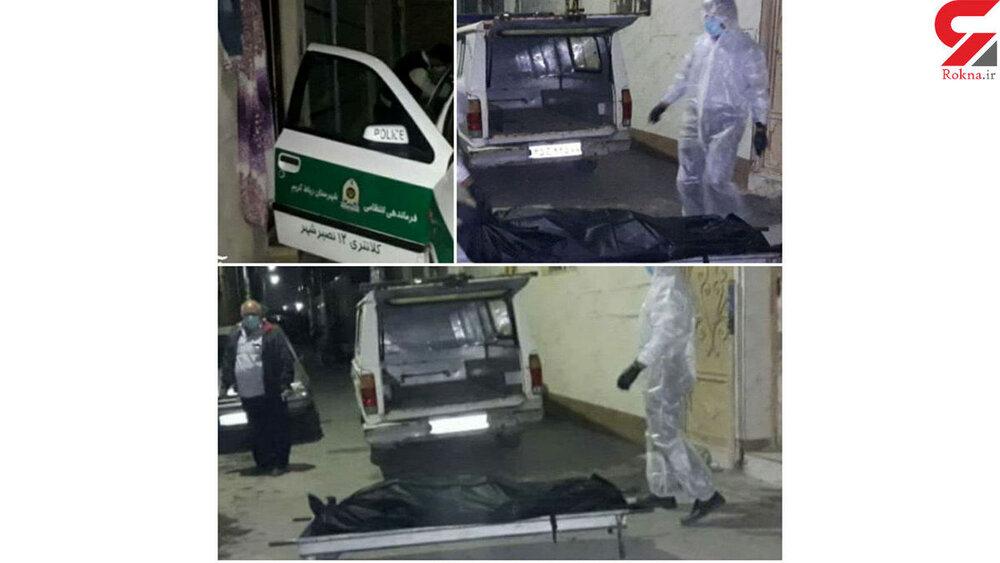 15055208 - جنازه زن کرونایی پس از ۳ روز در منزلش پیدا شد + عکس