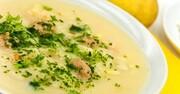 سوپ جو خوشمزه و لذیذ با پنیر پارمسان + طرز تهیه
