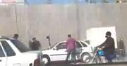 حریق وحشتناک خودرو در اتوبان خرازی + فیلم