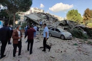 افزایش قربانیان زلزله ازمیر ترکیه / تعداد جان باختگان به ۱۰۰ نفر رسید