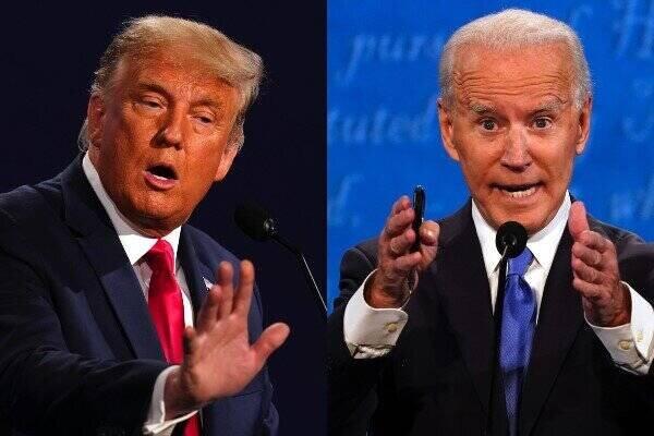 اولین نمودار شمارش آرای انتخابات ریاست جمهوری آمریکا + عکس -
