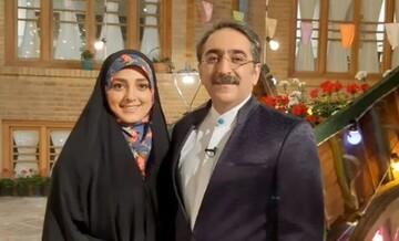 صحبت های شنیدنی خانم مجری درمورد اختلاف سنی ۱۴ ساله با همسرش + عکس