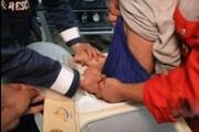 نجات عجیب کودک مشهدی از داخل ماشین لباسشویی / فیلم
